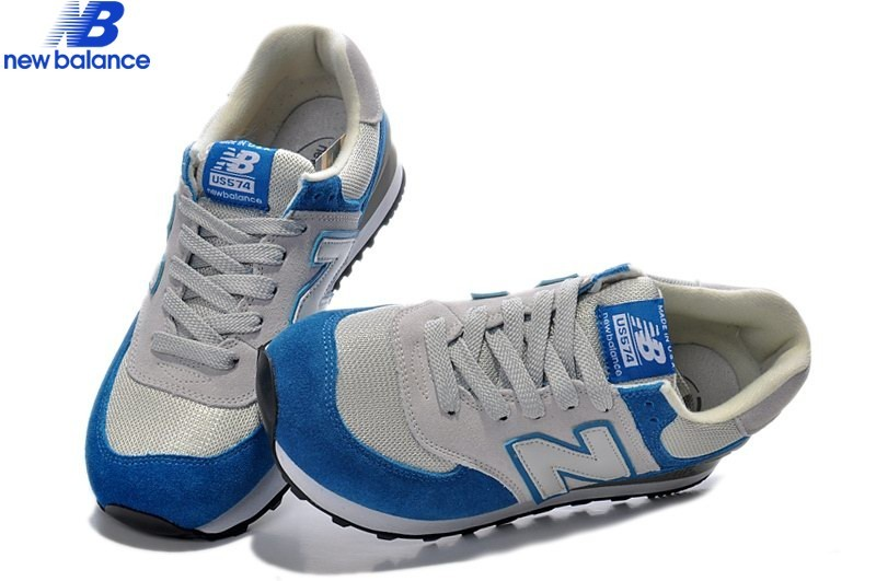 New Balance m574 Bleu Gray Men's  - New Balance m574 Bleu Gray Men's-01-2