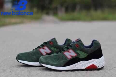 Men's New Balance Mrt580 Green Pink Black Shoe  - Men's New Balance Mrt580 Green Pink Black Shoe-01-4