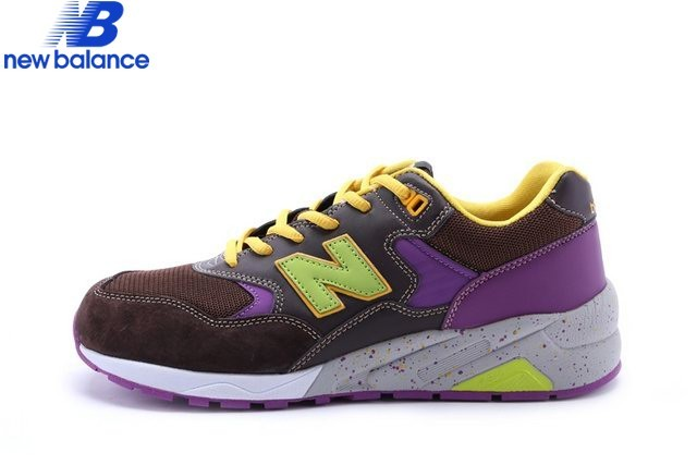 Men's New Balance Mrt580bd Barbie Black Brun Purple Green Shoe  - Men's New Balance Mrt580bd Barbie Black Brun Purple Green Shoe-01-5