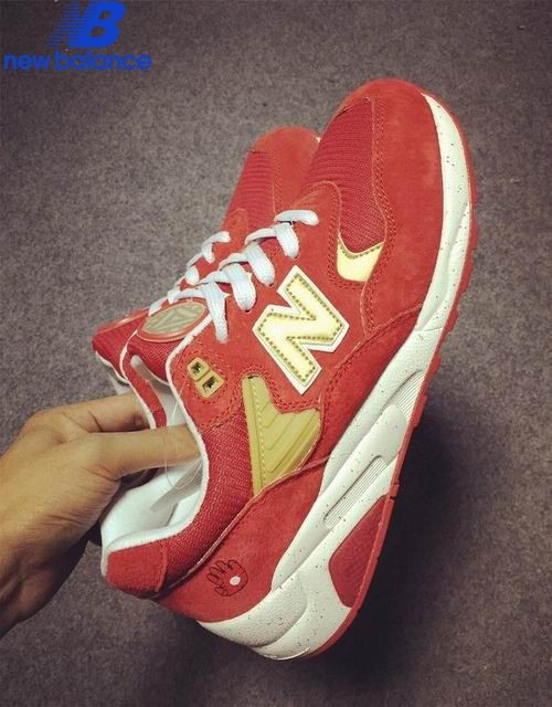 Men's New Balance Mrt580gd x Iron Man Red Or White Shoe  - Men's New Balance Mrt580gd x Iron Man Red Or White Shoe-01-7