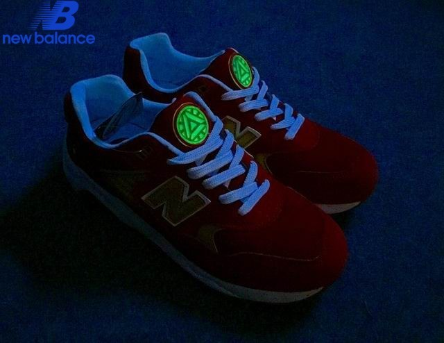 Men's New Balance Mrt580gd x Iron Man Red Or White Shoe  - Men's New Balance Mrt580gd x Iron Man Red Or White Shoe-01-8