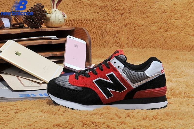New Balance Us574 Transformers Black Red Gray Women's Shoe  - New Balance Us574 Transformers Black Red Gray Women's Shoe-01-8