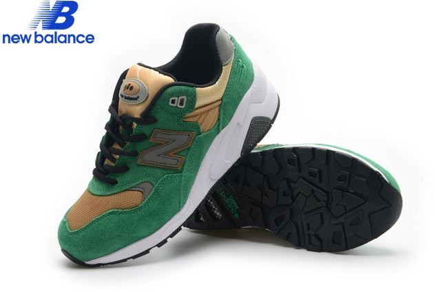 New Balance Wrt580 Or Green Shoe Women's - New Balance Wrt580 Or Green Shoe Women's-01-4