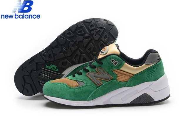 New Balance Wrt580 Or Green Shoe Women's - New Balance Wrt580 Or Green Shoe Women's-01-0