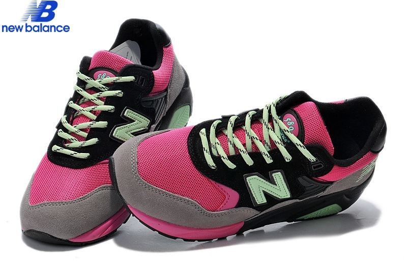 New Balance Wt580pbg Hectic x Mita Pink Black Green Shoe Women's - New Balance Wt580pbg Hectic x Mita Pink Black Green Shoe Women's-01-3