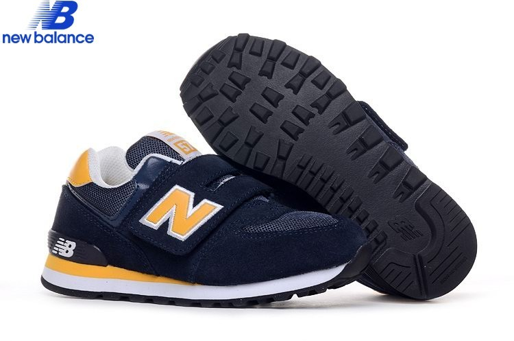 New Balance Kv574cyy Marine Yellow Youth Gs Kids Shoe  - New Balance Kv574cyy Marine Yellow Youth Gs Kids Shoe-01-9