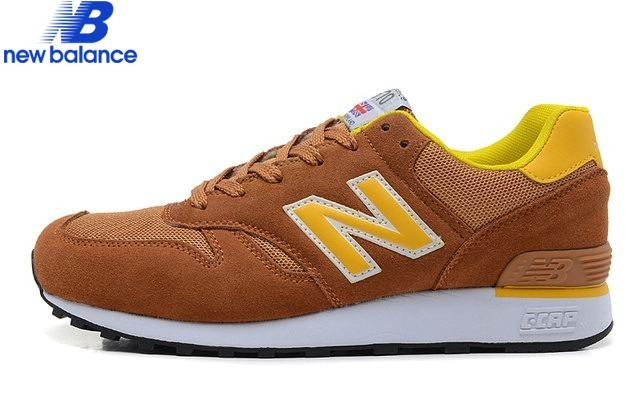 New Balance m670 Brun Yellow Men's Shoe - New Balance m670 Brun Yellow Men's Shoe-01-6