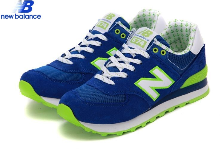 New Balance Wl574ydb Yacht Club Lovers Bleu Green White Women's Shoe  - New Balance Wl574ydb Yacht Club Lovers Bleu Green White Women's Shoe-01-2