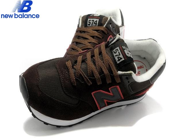 New Balance 574 Brun Red Edge Men's Shoe  - New Balance 574 Brun Red Edge Men's Shoe-01-3