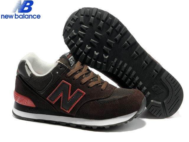 New Balance 574 Brun Red Edge Men's Shoe  - New Balance 574 Brun Red Edge Men's Shoe-01-0