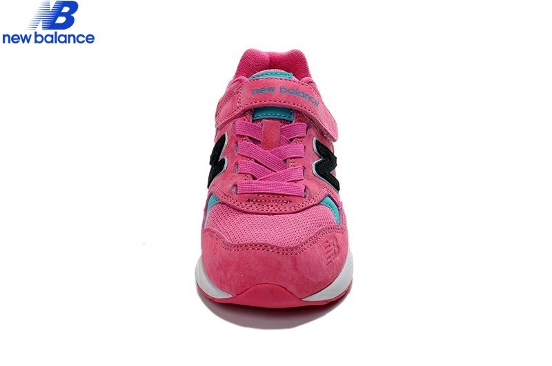 New Balance Kv580 Pink Black Kids Shoe  - New Balance Kv580 Pink Black Kids Shoe-01-3