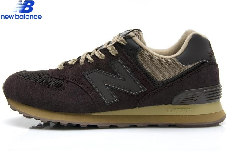 New Balance Ml574btf Classic Deep Brun Gray Skateboard Men's Shoe - New Balance Ml574btf Classic Deep Brun Gray Skateboard Men's Shoe-01-1