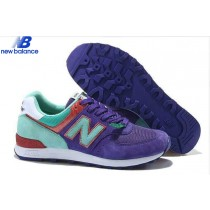 Women's New Balance w576 Ep Bleu Green Red Shoe-20