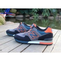 Women's New Balance w576ebo Three Peaks Dark Gray Orange Marine Shoe-20