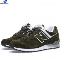 New Balance m576wmw Suede Uk Green White Men's-20