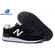 New Balance m670 Black White Men's Shoe-20