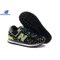 New Balance 574 Leopard Print Edition Green Gray Black Women's Shoe-20
