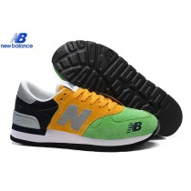 New Balance 990 Brazilian Flag Green Yellow Bleu Women's Shoe-20