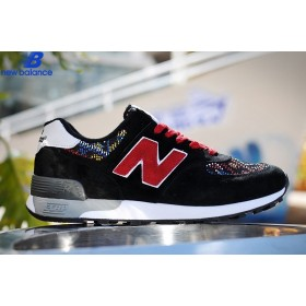 New Balance 576 National Style Weave Black Red Men's Shoe