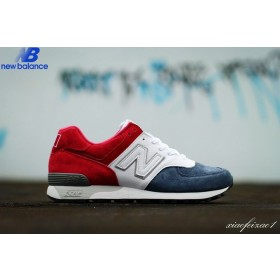 New Balance m576fra Joint Signed Limited Edition Red White Bleu Men's Shoe