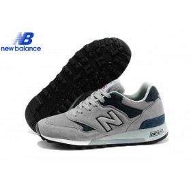 New Balance m577gna Gray Marine Skateboard Men's Shoe