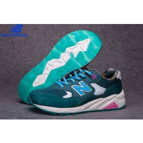 Women's New Balance Mrt580 Green Bleu Shoe