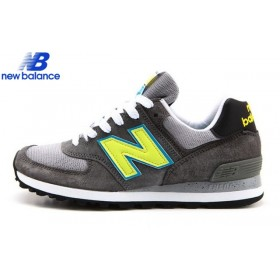 New Balance Us574cy National Parks Gray Neon Green Men's Shoe
