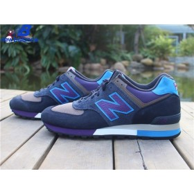 Women's New Balance w576enp Three Peaks Black Bleu Purple Shoe