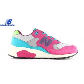 New Balance Wrt580wj Purple Pink Bleu Green Shoe Women's