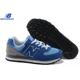 New Balance 574 Made In Usa Series Gray Skyblue Men's