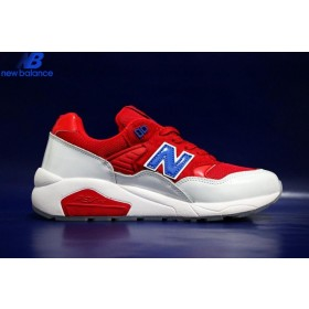 New Balance 580 Nba Scottie Pippen No33 Red Bleu White Women's Shoe