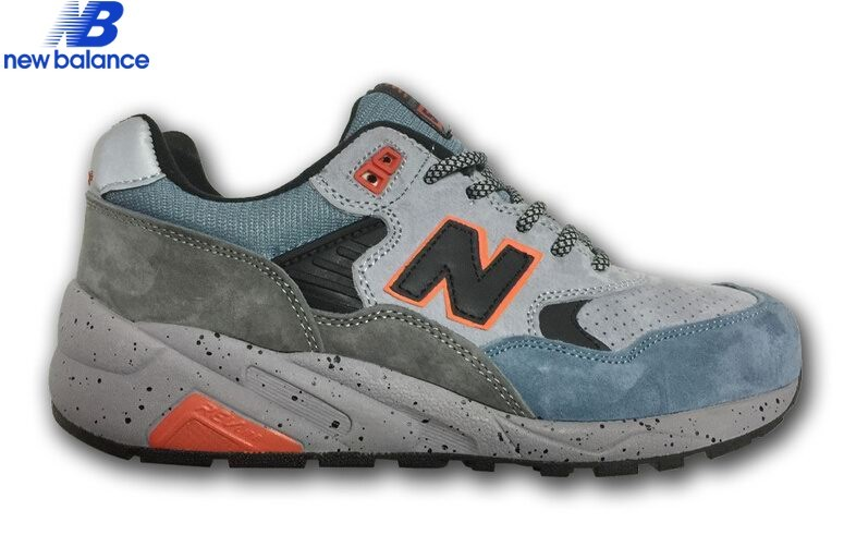 Men's Shoe New Balance Mt580gry Undefeated Bleu Gray Black  - Men's Shoe New Balance Mt580gry Undefeated Bleu Gray Black-01-0