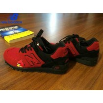 Women's New Balance 576 Angry Birds Red Black Shoe-20