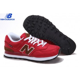 Men's New Balance Ml574pbr Back Pack Retro Red Brun Shoe